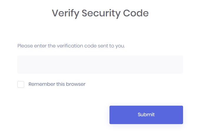 google-auth-verify-security-code