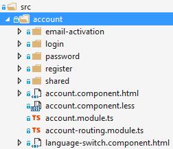 Account Module Angular 2