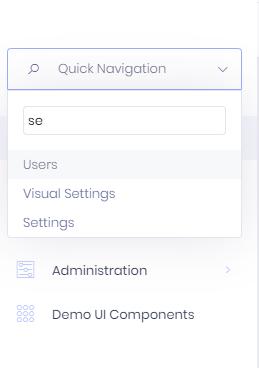 quick-navigation-on-left-menu