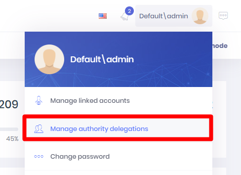User Delegations