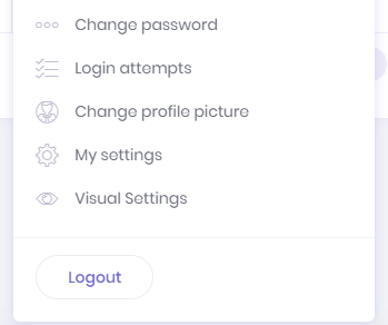 User visual settings