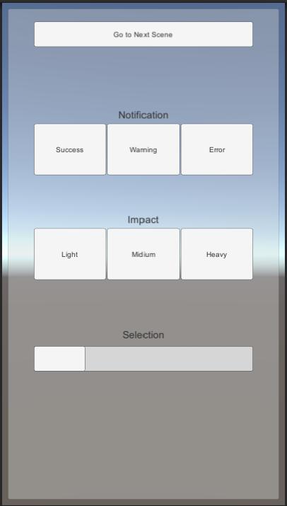 Unity Taptic Plugin - UnityList