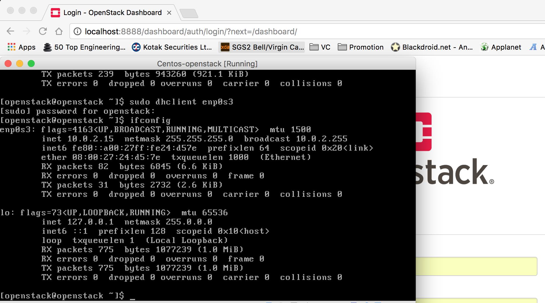 GitHub - aswath1991/Preinstalled-Openstack-VirtualBox-x64: A