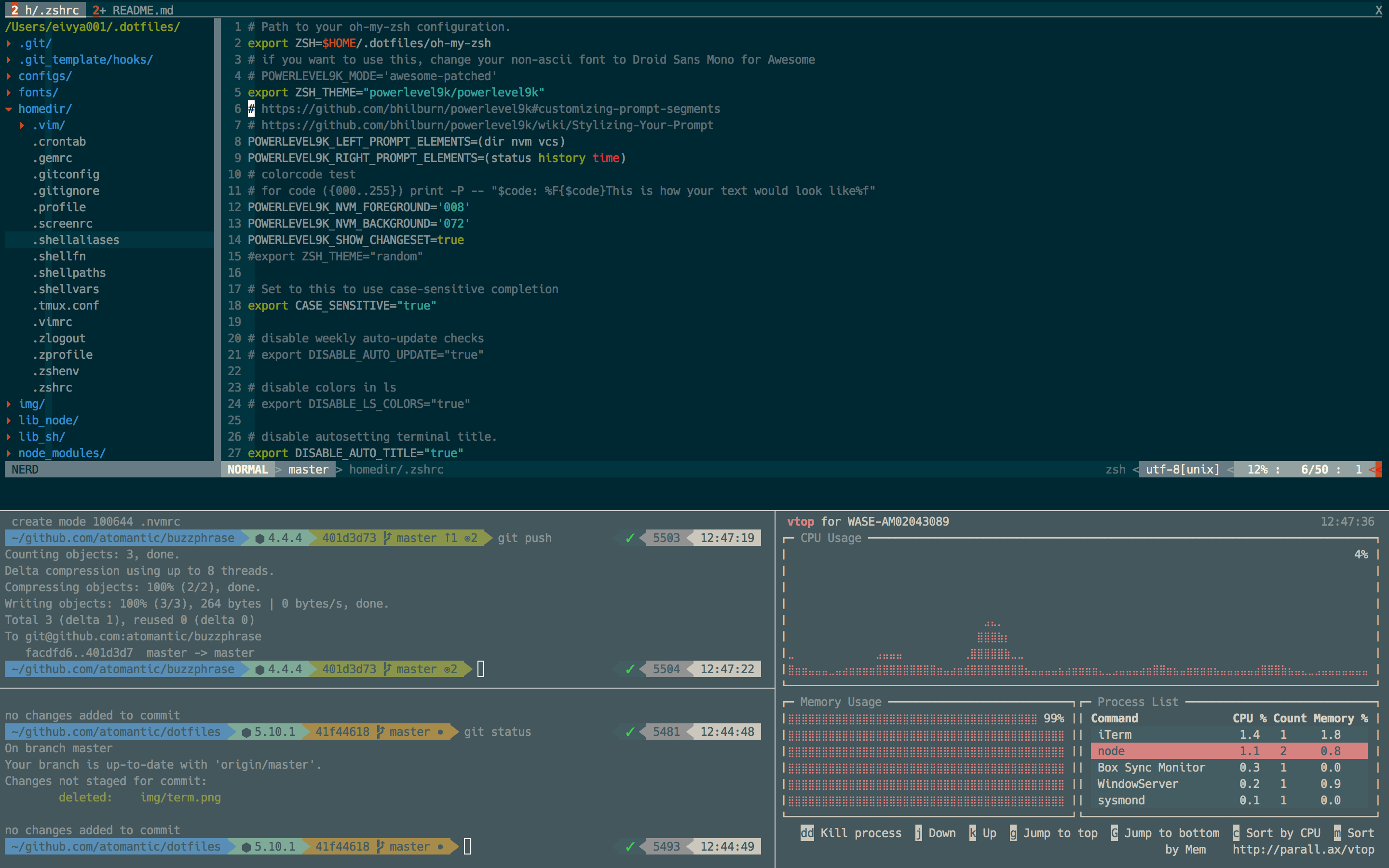 iTerm Screenshot