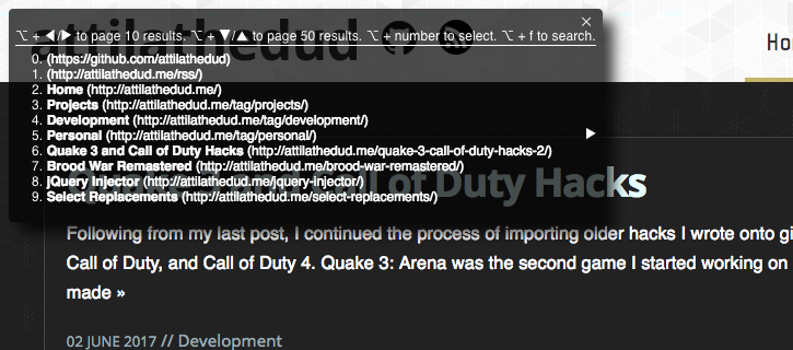 Main Display screenshot