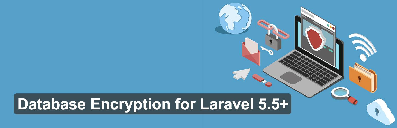 laravel-database-encryption banner from the documentation