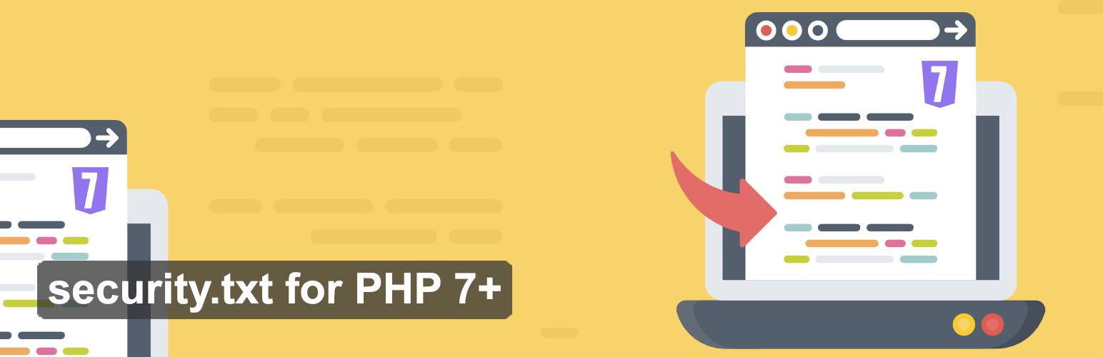 php-security-txt banner from the documentation