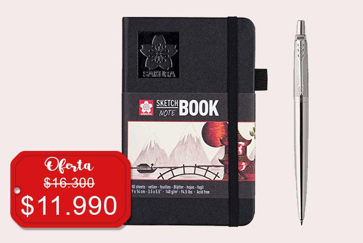 Oferta Jotter Premium + Sketchnbook