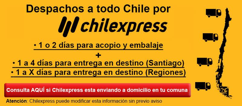 Banner Caja - Estado envíos Chilexpress
