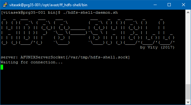 Image of HDFS-Shell