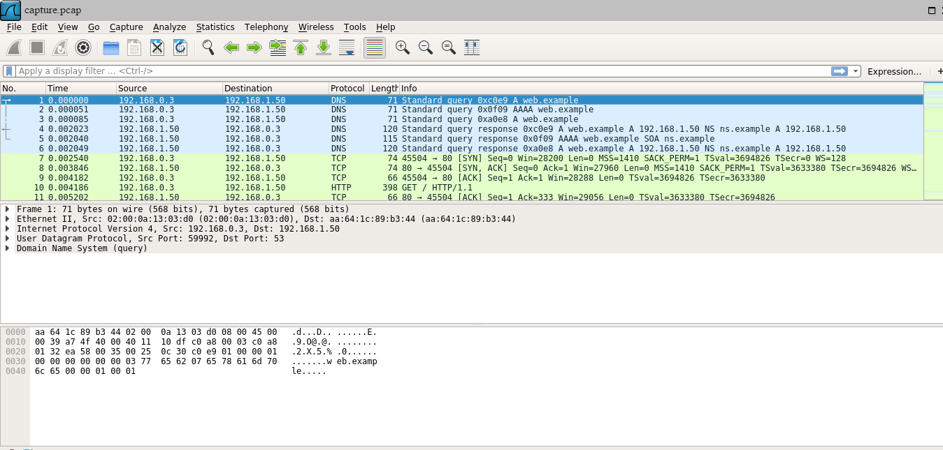 avatao wireshark