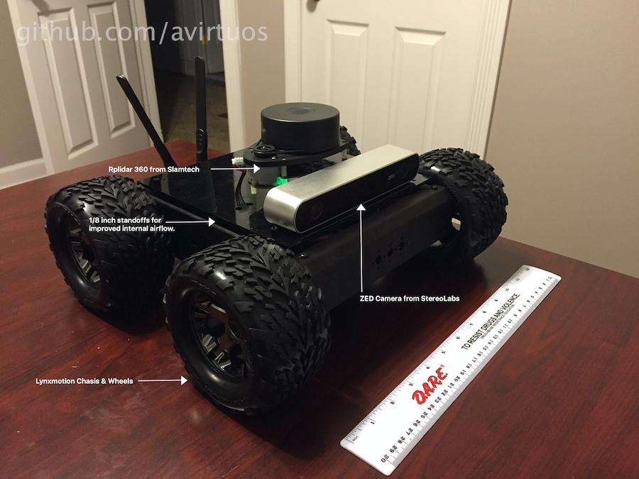 GitHub - avirtuos/ros_hercules: A basic autonomous rover