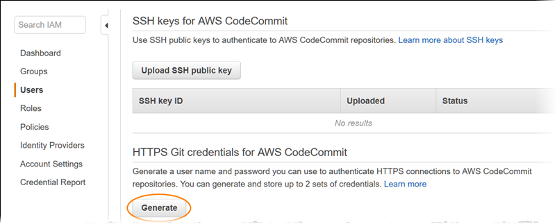 HTTPS Git Credential