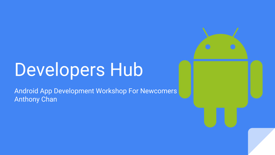 Developers Hub