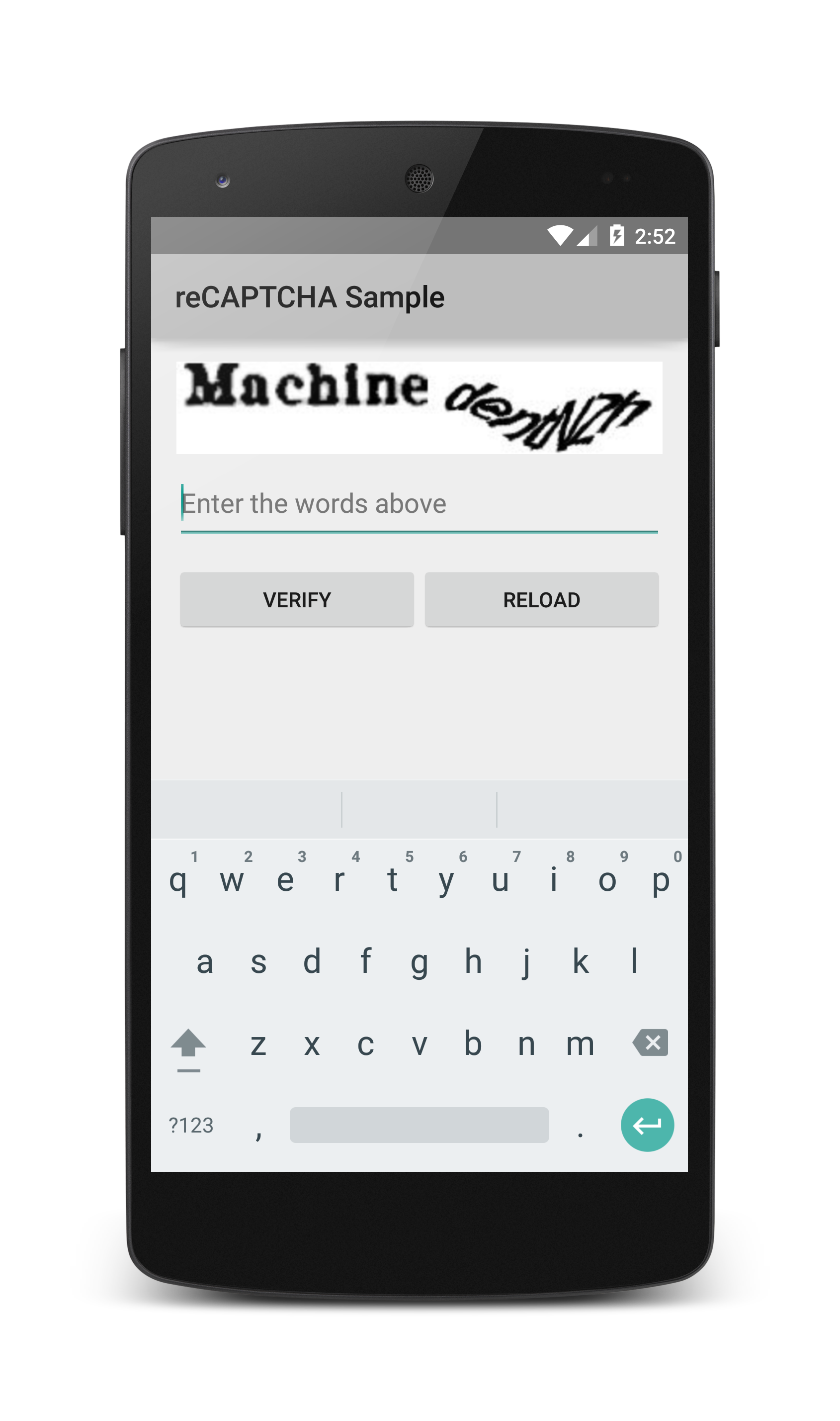using captcha in mobile apps - Stack Overflow