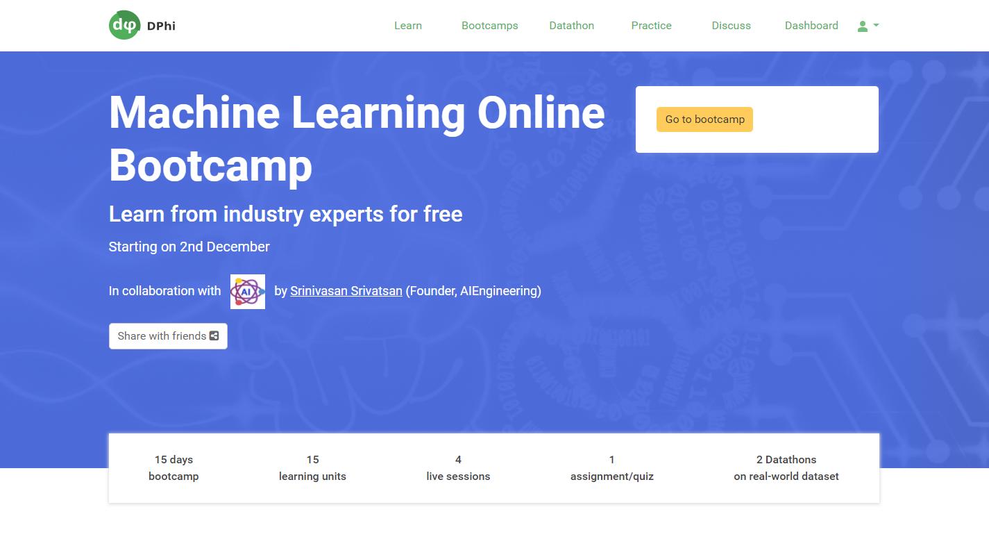 Dphi Bootcamp