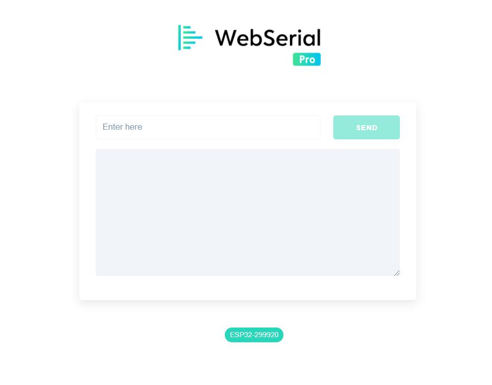 WebSerialPro