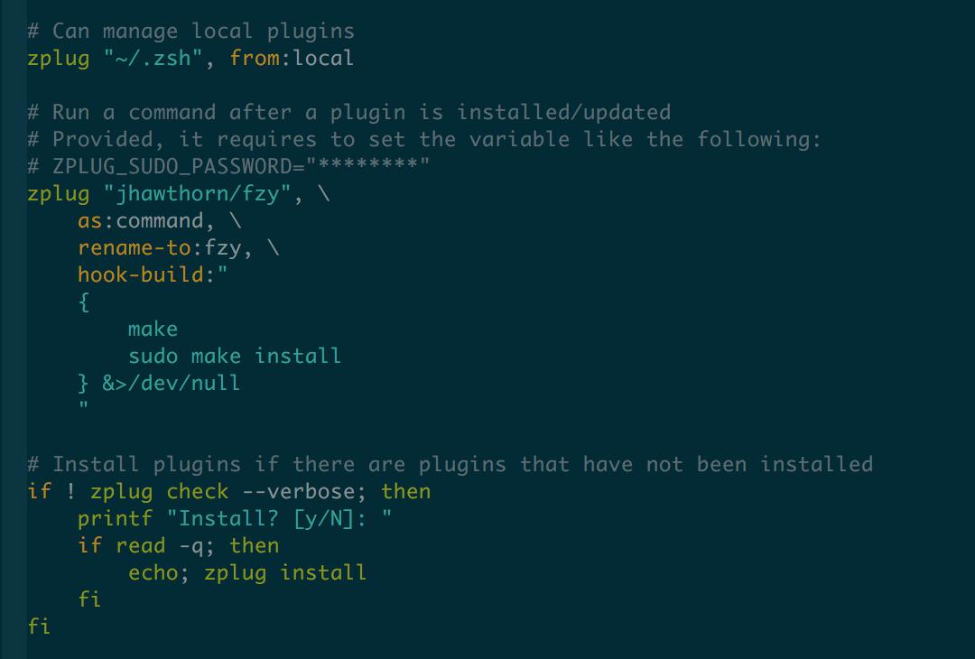 GitHub - zplug/vim-zplug: Vim filetype plugin for zplug