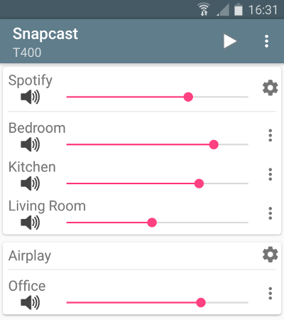 Snapcast for Android