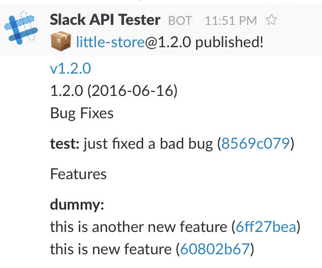 Publish release notes to Slack | Better world by better software