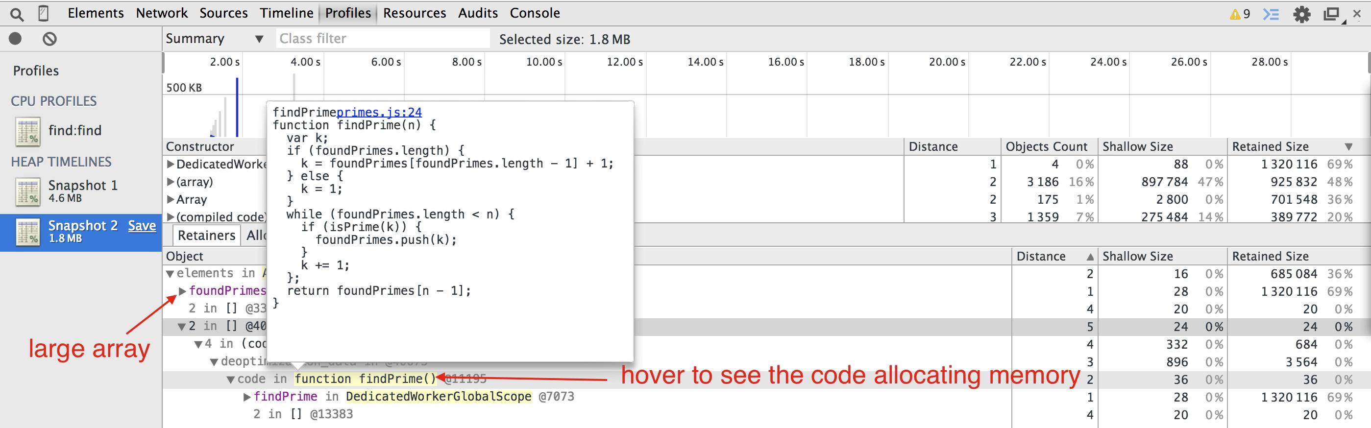 Improving Angular web app performance example  | Better