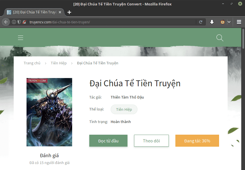 TruyenCV downloader