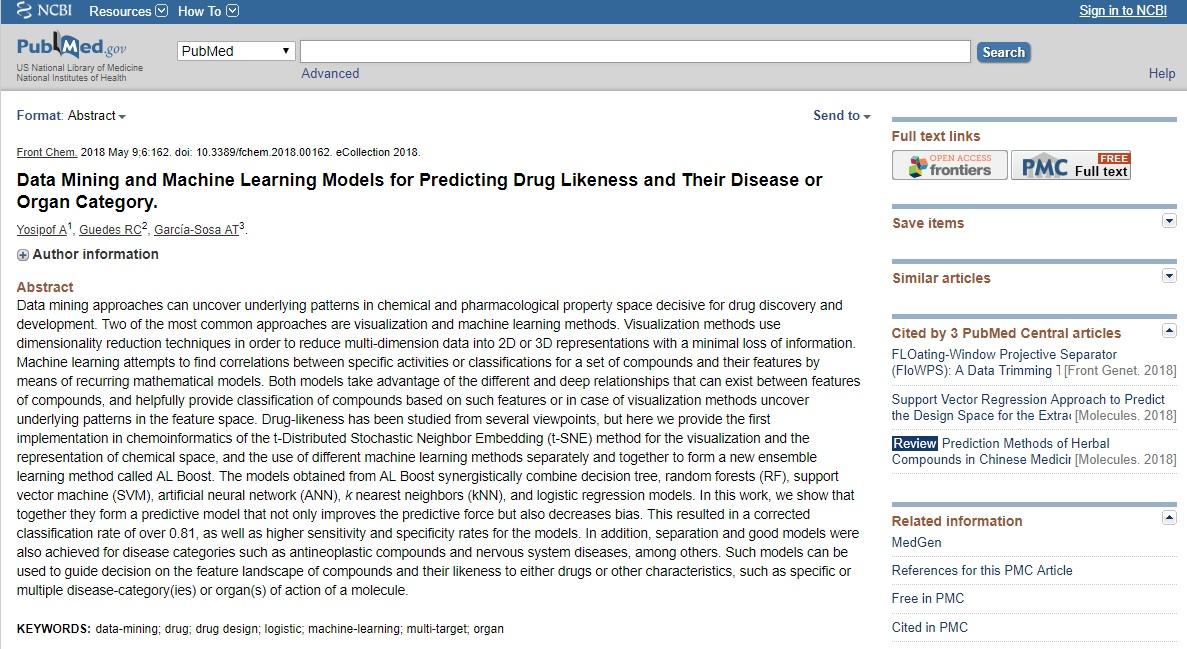 Data Mining Dalam Bidang Farmasi