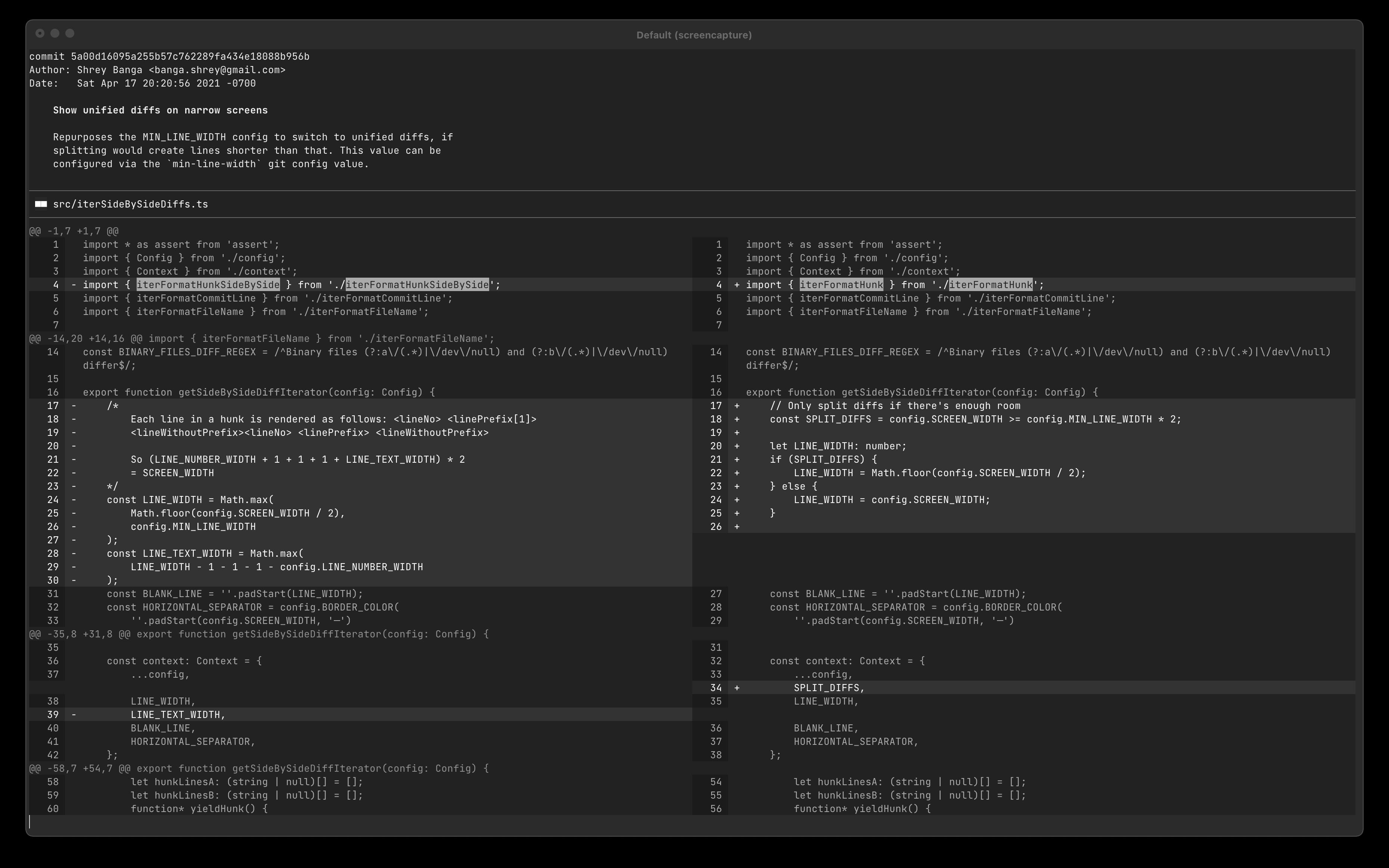 Screenshot of Monochrome Dark theme