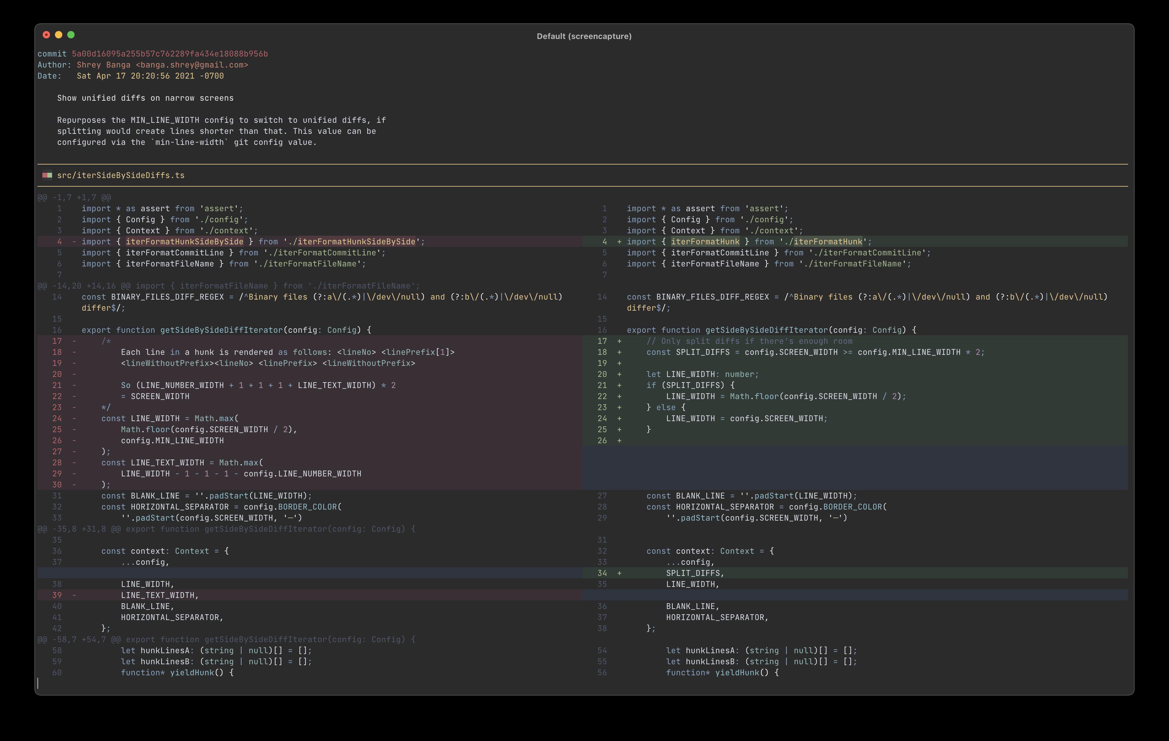 Screenshot of GitHub Dark (Dim) theme