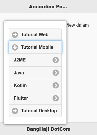 PopUp Accordion + ListView Open jQuery Mobile