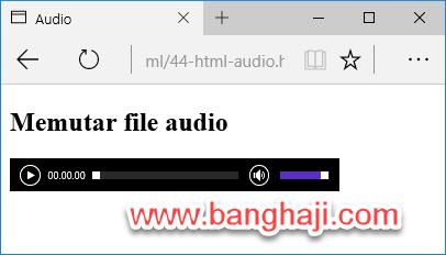 Audio Player Edge