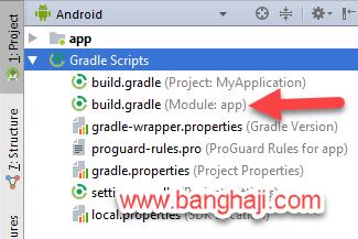 Buka Gradle Module App