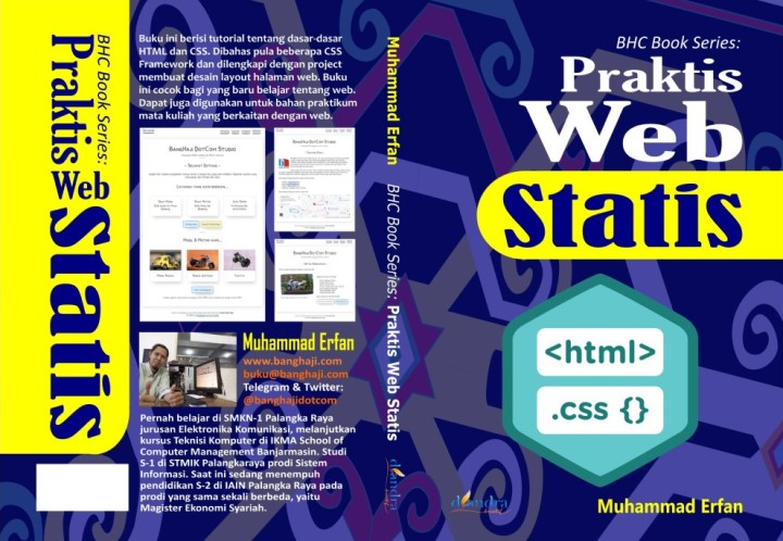 Cover Buku BHC Book Series: Praktis Web Statis