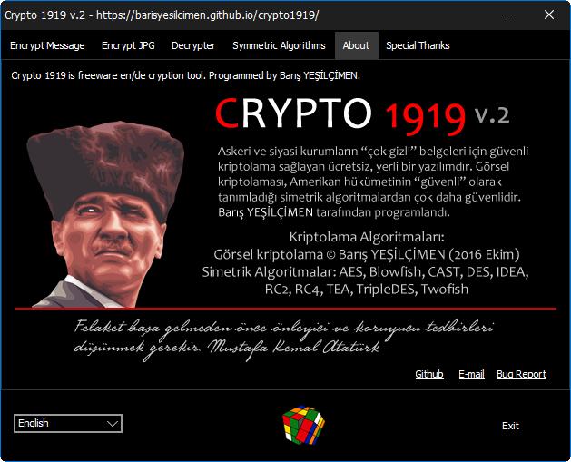 Crypto 1919 v.2.0