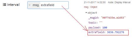 Msg field