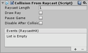 CollisionFromRaycast
