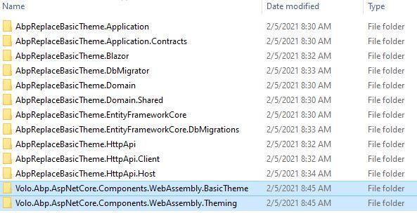 src folder structure