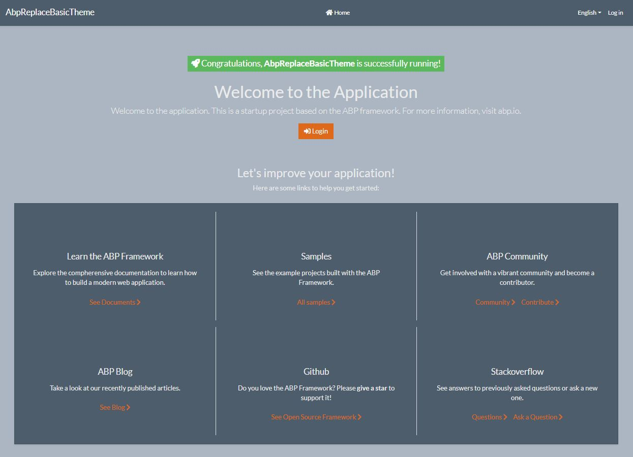 SuperHero Bootstrap Theme up and running!
