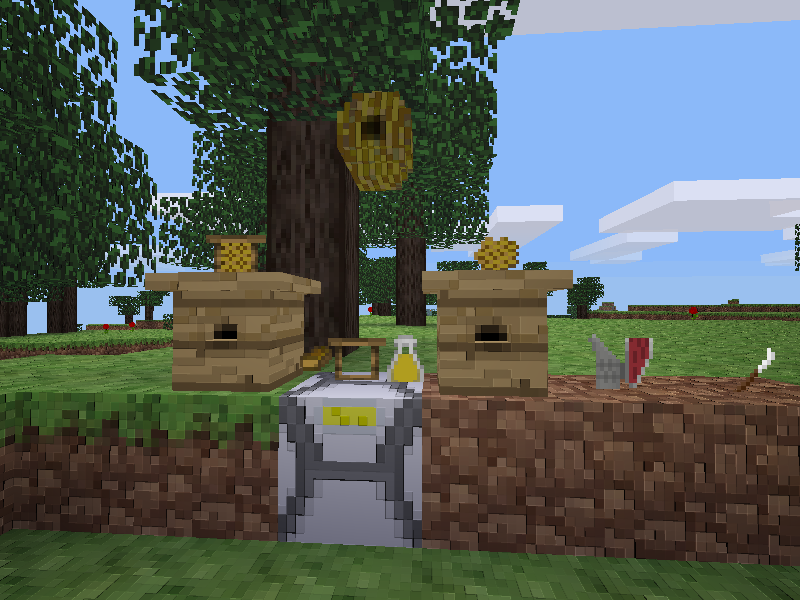 Minetest Forums • View topic - [Mod] Bees and beekeeper [2 0] [bees]