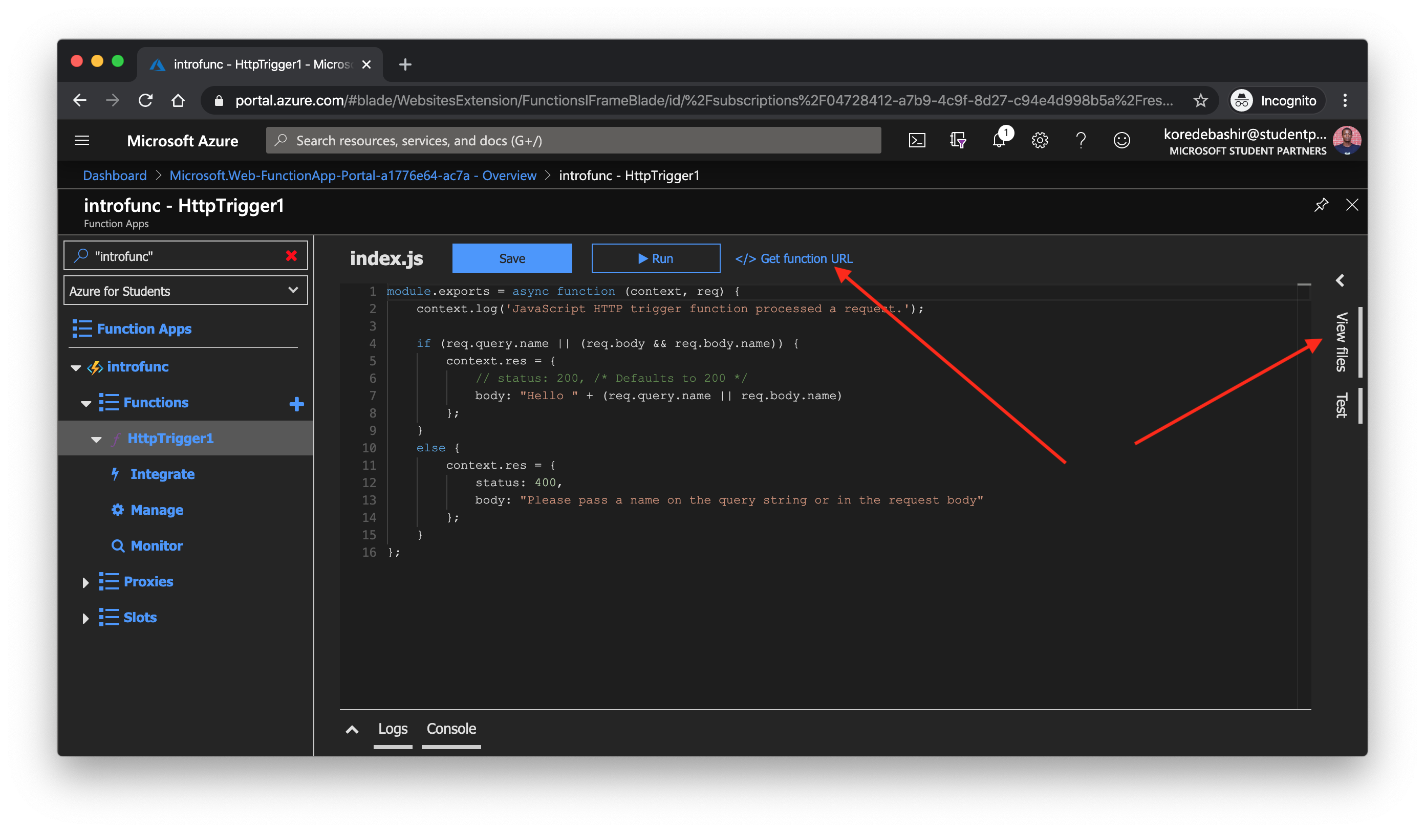 Azure Functions New