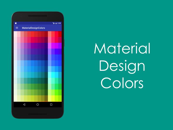 MaterialDesignColors