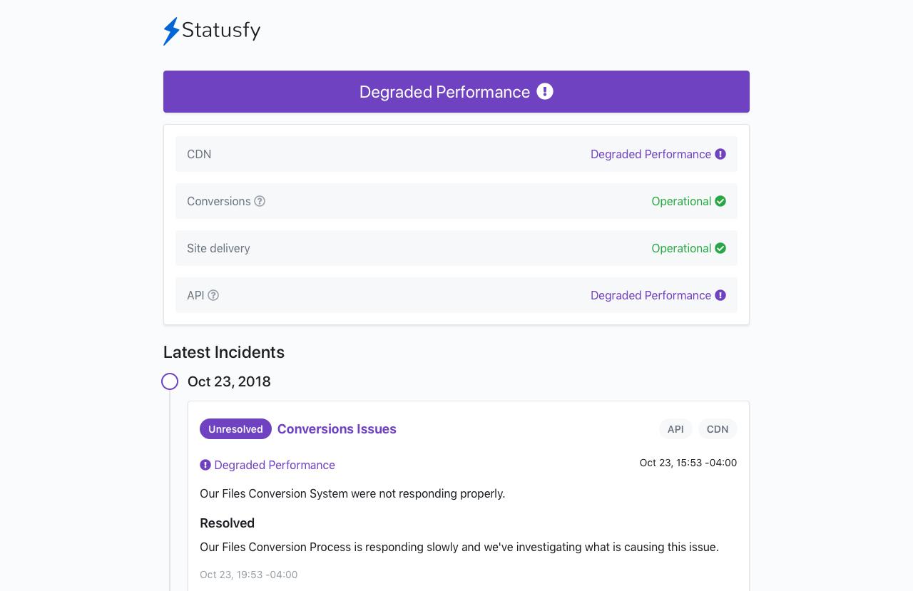 Statusfy