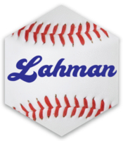 Lahman package hex sticker