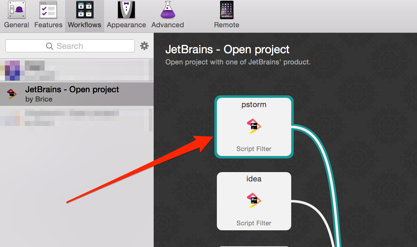 jetbrains-workflow-script-filter