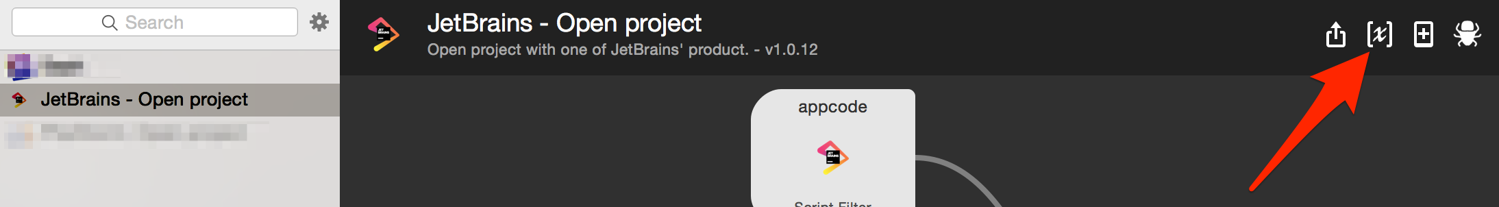 GitHub - bchatard/jetbrains-alfred-workflow: Open a project