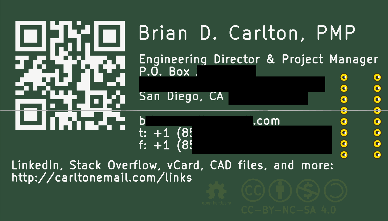 Github bdc0businesscard brian d carlton pcb business card image of front side of pcb httpsrawthubusercontentbdc0 businesscardmasterbriandcarltonbusinesscardfonthiddeng colourmoves