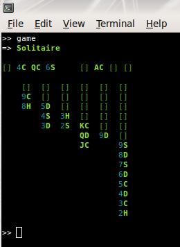 IRB Solitaire Screenshot
