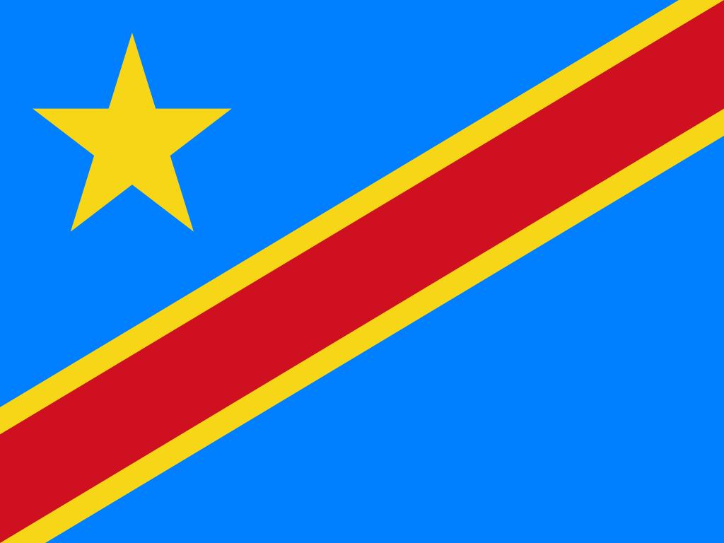 Congo (DRC) (Jamhuri ya Kidemokrasia ya Kongo)