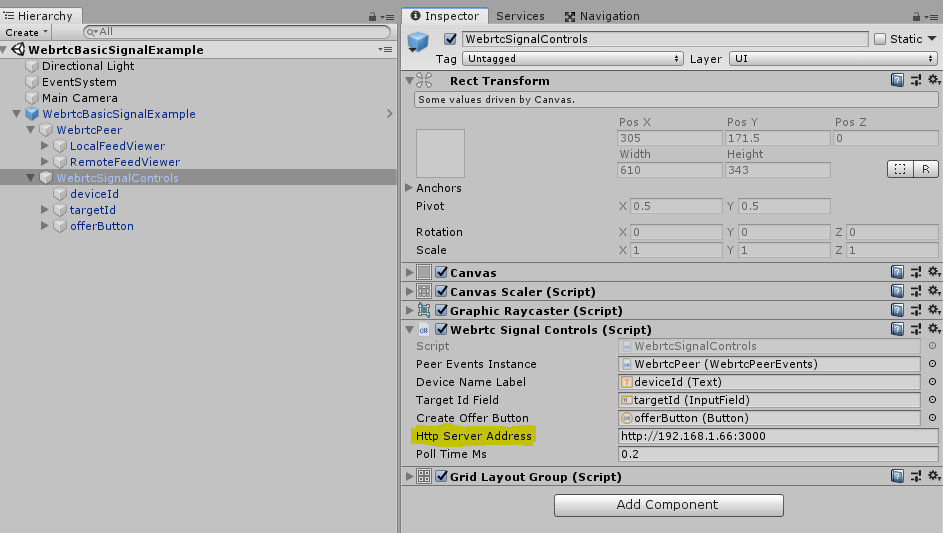 Webrtc Unity Plugin - UnityList