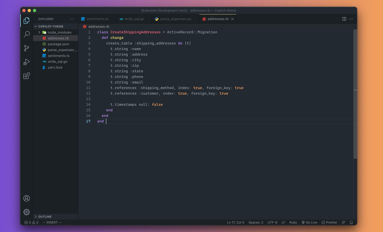 Ruby screenshot